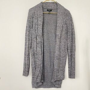 Forever 21 Heathered Gray Cardigan